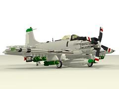 "Douglas A-1H Skyraider ""Paper Tiger II"""