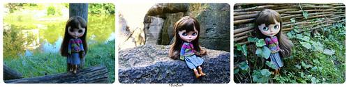Flickr the blythe doll welcome winter pool for Blythe le jardin