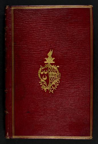 Binding of  Diogenes Laertius [pseudo-]: Libro della vita dei filosofi e delle loro elegantissime sentenzie