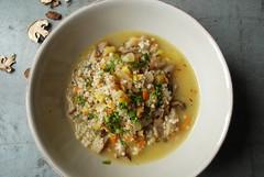 Leek & Mushroom Stew