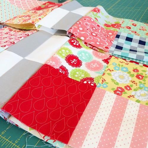 High Tea Quilt in progress