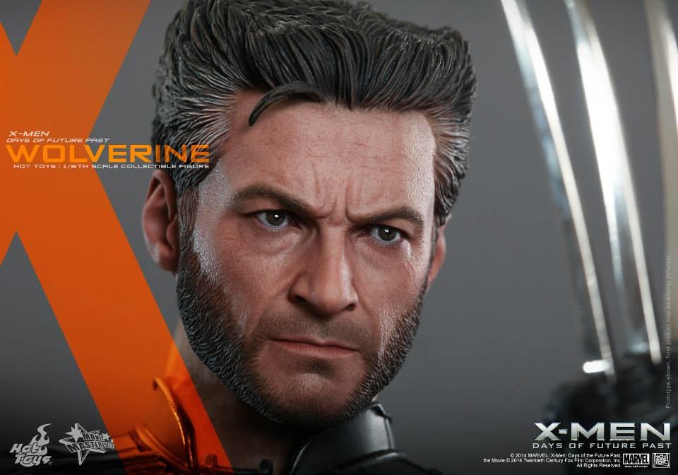 Hot Toys – MMS264 –《X戰警:未來昔日》1/6比例 金鋼狼