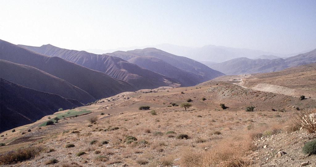 Road trip en Iran - Reliefs usés des Monts Elbourz
