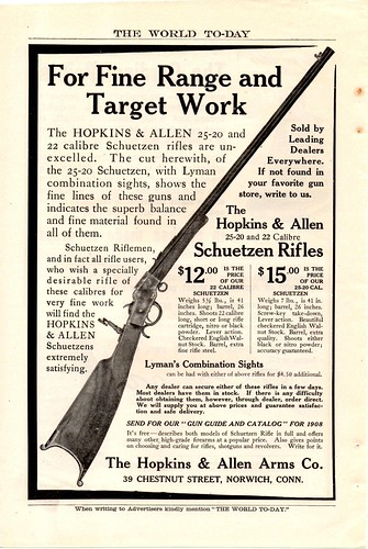 Hopkins Allen Schuetzen Rifle