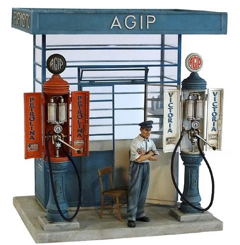 Model Victoria stazione AGIP 1-35