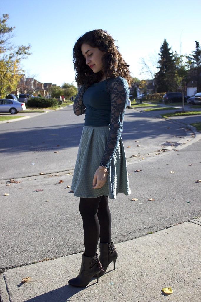 H&M+Skirt+Side