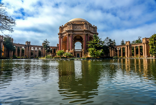 The Palace of Fine Arts by Geoff Livingston