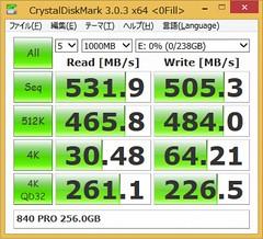 840 PRO 256GB 0fill
