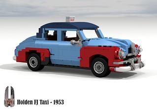 Holden FJ Taxi - 1953