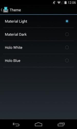 клавиатура Google из Android 5.0