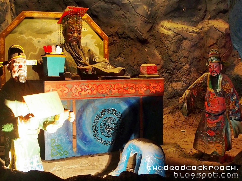 aw boon haw, aw boon par, chinese values, folklore, haw par villa, mythology, sculptures, statues, ten courts of hell, tiger balm, tiger balm garden, 虎豹别墅, singapore, where to go in singapore,fifth court of hell,yama,king yanluo