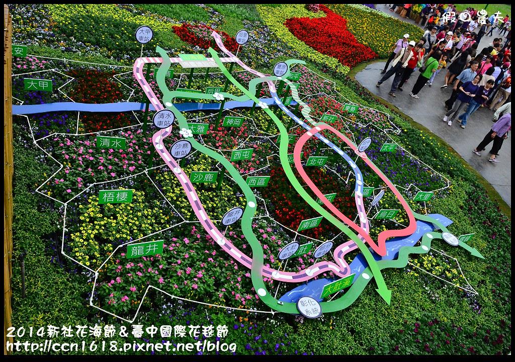 2014新社花海節&臺中國際花毯節DSC_5019
