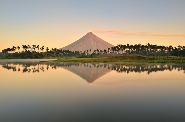 Mayon Reflections