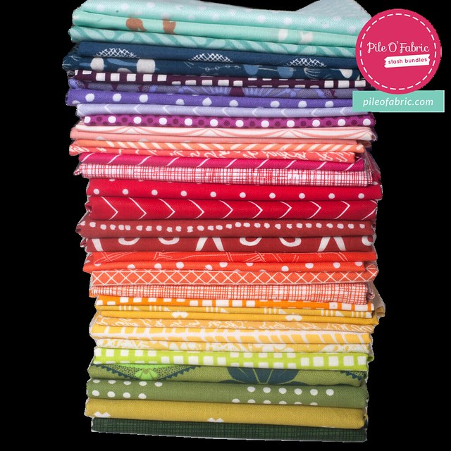 Color Wheel Bundle GIVEAWAY with Pile O' Fabric!