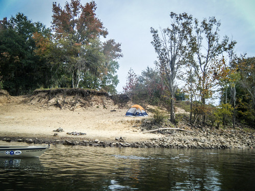 Savannah River from Stokes Bluff with LCU Nov 7, 2014, 4-18 PM Nov 8, 2014, 9-024