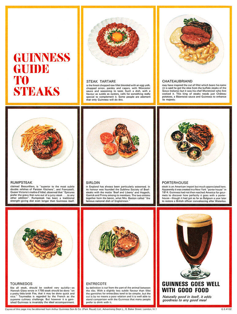 Guinness-1956-guide-to-steaks