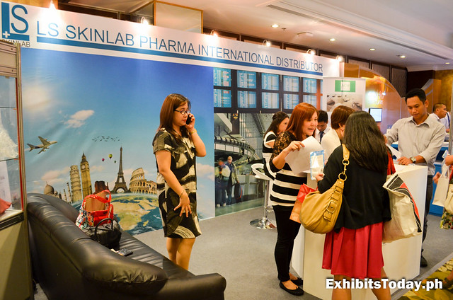 LS Skinlab Pharma International Distributor Exhibit Booth
