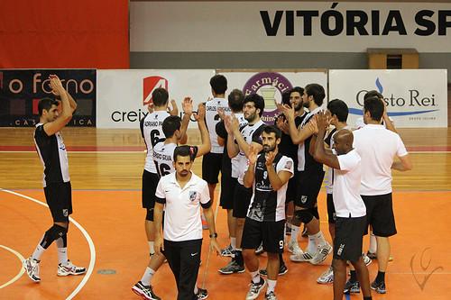 Voleibol: Vitória SC 3-1 Clube K