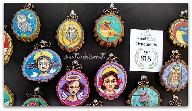 Creative Kismet Art Ornaments