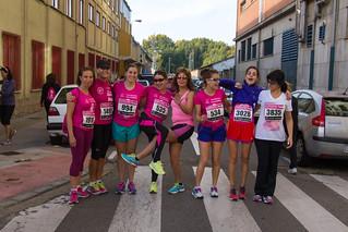 Carrera de las Mujeres contra el cáncer de mama - León 2014