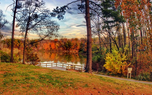 2014 jamiesmed halloweennights wintonwoods hdr canon yellow app eos dslr 500d t1i teamcanon iphoneedit orange autostitch handyphoto snapseed panorama pano trees tree geotagged geotag sky skies blue reflection reflect creepycampout campout water facebook reflections reflects light landscape cincinnati ohio midwest october autumn fall rebel photography clouds celebrate celebration park queencity