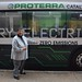 MassDOT posted a photo:	#MBTA GM Beverly Scott checking out Zero-Emission #Electric #Bus by Proterra. #Transit #CleanEnergy @MassDOT priority.