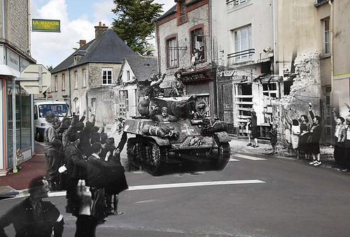 Liberation of St. Mere-Eglise June 1944