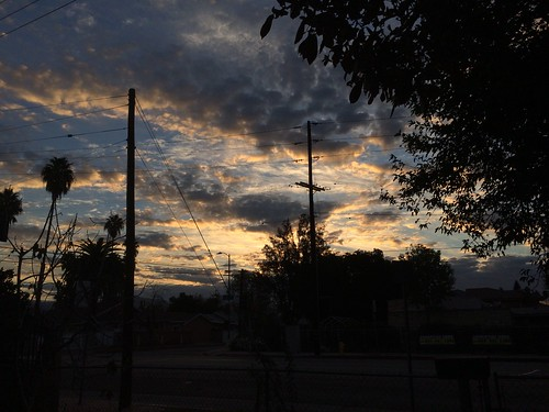 sky clouds sunrise sylmar