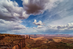 Spring Storm over Canyonlands