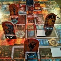 Dungeon Twister: l'eau et le feu.