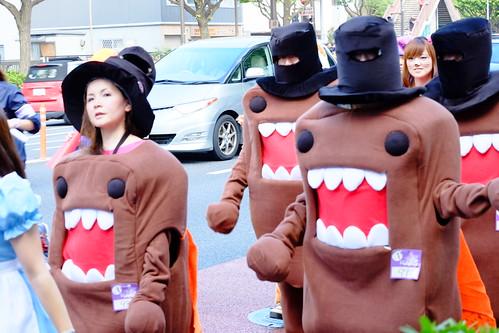 Domo-kun Kawasaki Halloween parade 2014 47