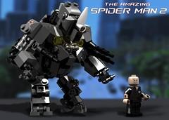 BRIX The Amazing Spider-Man 2 : Rhino w/ Aleksei Sytsevich