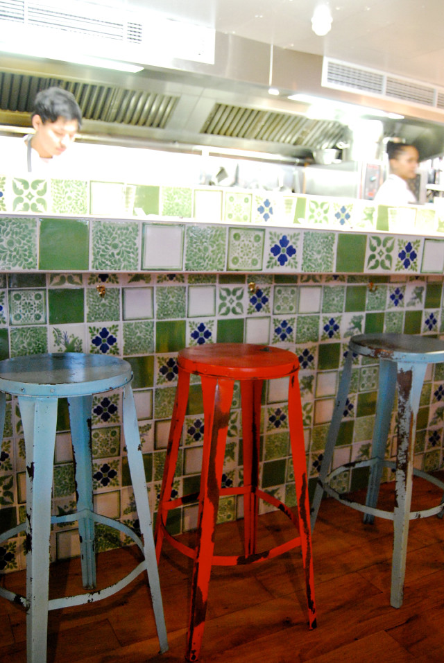 Kitchens in Señor Ceviche, Soho
