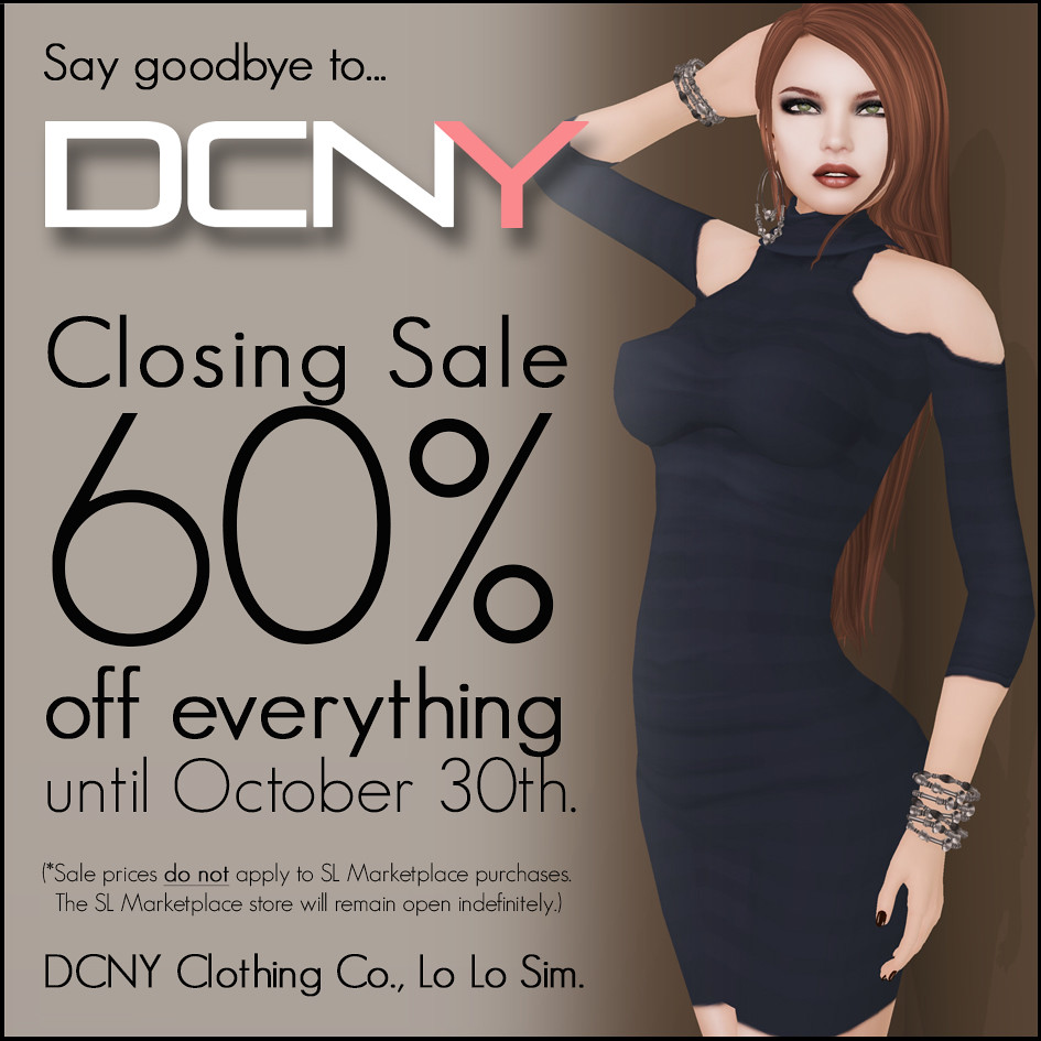 DCNY Closing Sale!