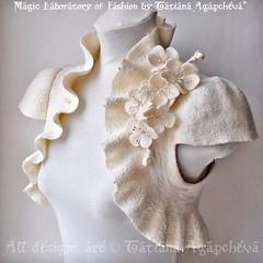 #wedding #weddinggown #bolero #shrug #jacket #cherry #blossoms #ivory #handmade #cashmere #etsy #sale #etsysale #fashion #bride #marriage #fiancee #couple #winter #fall #warm