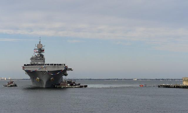 uss bataan returns to homeport at naval station norfolk