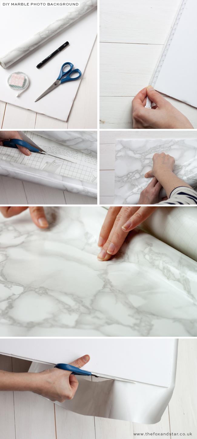 DIY :: Marble Photo Background