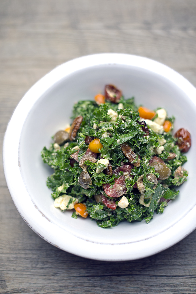 kale salad x blog