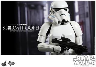 Hot Toys – MMS267 – 星際大戰:四部曲 曙光乍現【白兵】1/6 比例 Star Wars Stormtrooper