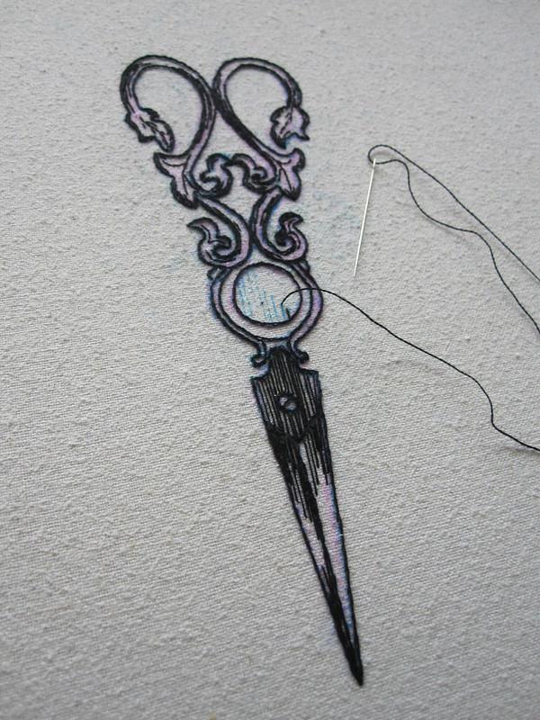 Antique Scissors II