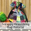 Check out my newest tutorial on my blog!!! Scrappy drawstring bag!! I used my @sizzix machine to cut out my squares super fast!!! www.freckledwhimsy.com