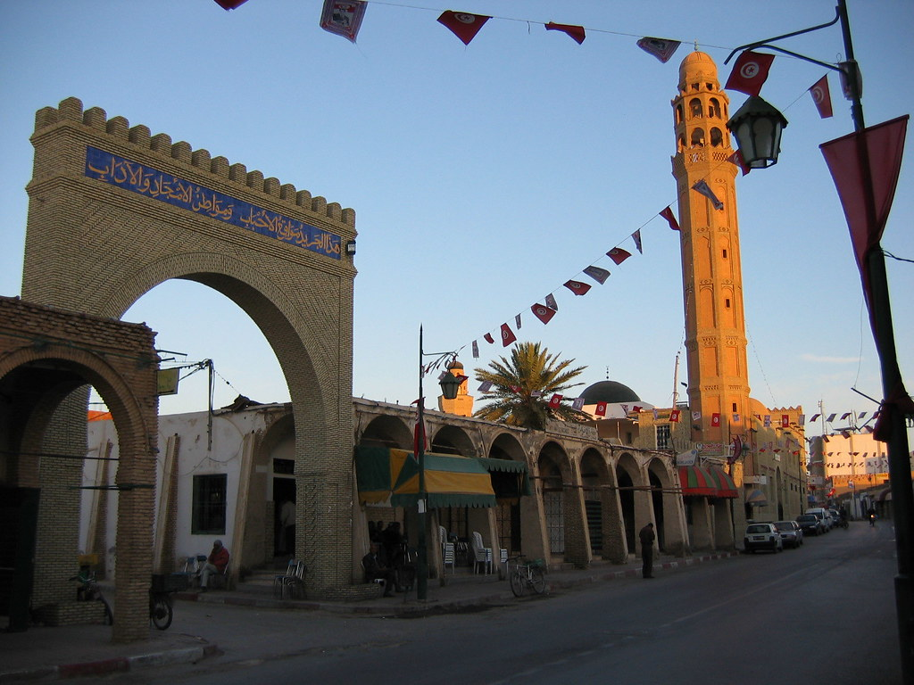 Avenue Bourguiba, Tozeur, Tunisia