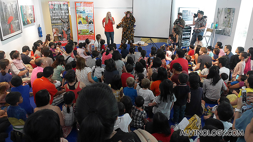 The Gruffalo and Kidsfest both have a large loyal following in Singapore