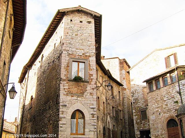 Gubbio - Stadtansicht1