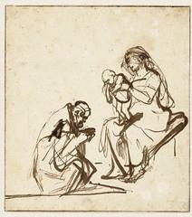 Rembrandt, Kongenes tilbedelse