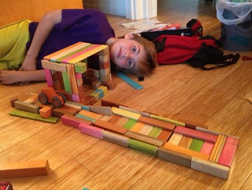 @tacodeli drive-through--made with @Tegu blocks!