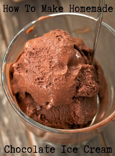 How To Make Homemade Chocolate Ice Cream