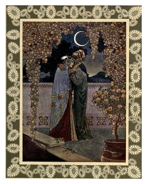 014-Rubáiyát of Omar Khayyám-1913- Ilustrado por René Bull
