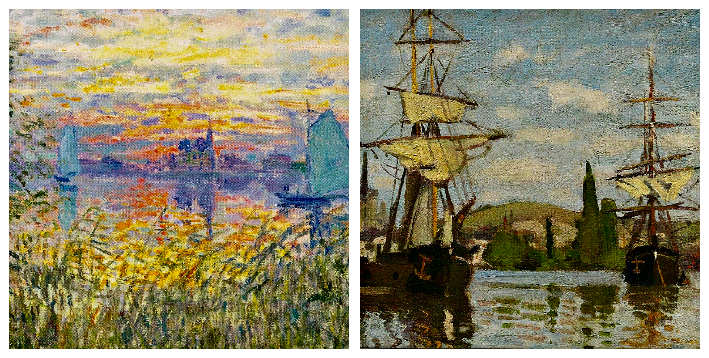 Monet Postcards