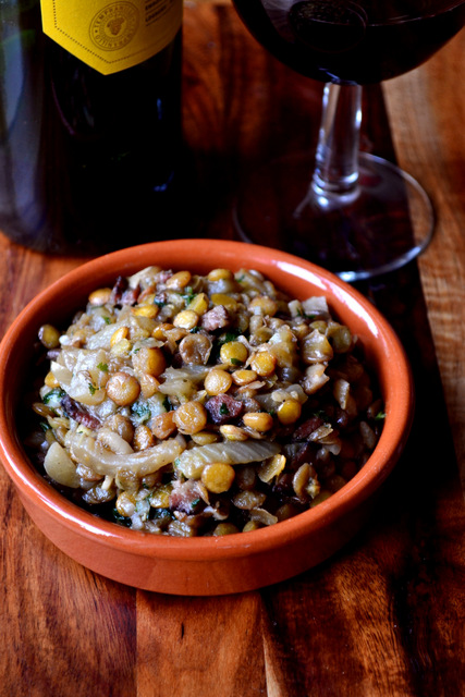 Green Lentil Stew Recipe